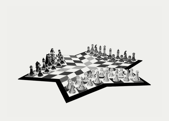 Chess for three. Solutions for business growth.